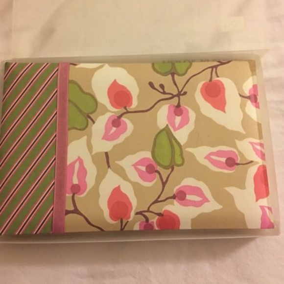 Pepper Pot Cherry Blossom Fabric Cover Photo Album Nwt